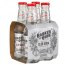 Barker and Quin, Club Soda – 4 x 200ml
